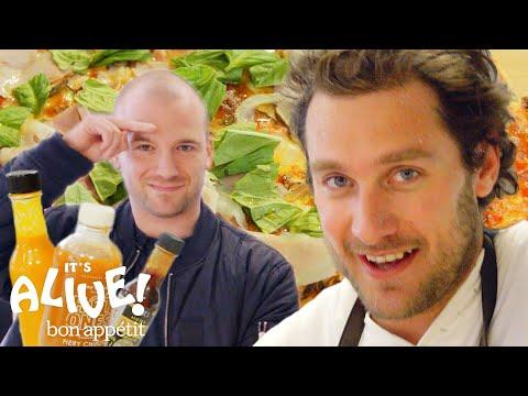 Brad and Sean Evans Make Cast-Iron Pizza  It's Alive  Bon Appétit