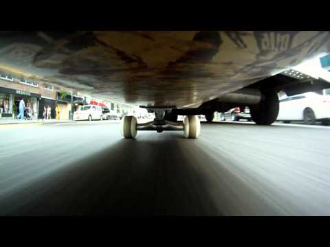Video: New York City Filmed From Below A Skateboard