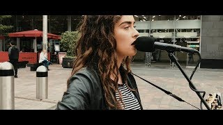 Video AMAZING!! 18yr old busker noticed by David Bowies record producer!!!! MP3, 3GP, MP4, WEBM, AVI, FLV Januari 2018