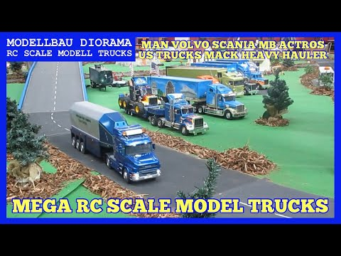 truck - RC Modell Trucks auf einem Diorama. Hier geht es rund um RC Modell Trucks, Mini Trucker Aschaffenburg, Diorama, Tankstelle, Baumaschinen, Dioramen, Tamiya Tr...