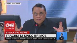 Video Polri Minta Maaf Soal Teror Mako Brimob ; Wakapolri: Semua Ini Penanggulangan, Tidak Ada Negosiasi! MP3, 3GP, MP4, WEBM, AVI, FLV Mei 2018