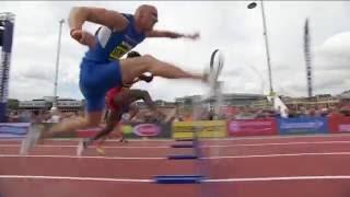 110m HurdlesDavid Omoregie 13.75Jarret Eaton 13.84  Gbrrdavid King 13.94  Petr Svoboda 14.41Great North City Games Newcastle 2016 FULL HD