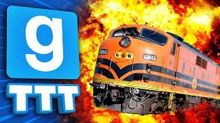 WE KEEP BLOWING UP THE TRAIN!   Gmod TTT