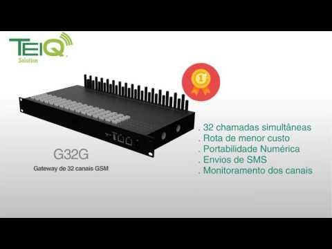 Gateways SIP/GSM/SMS (Chipeiras) TEIQ