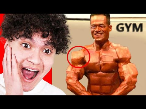 These Body Builders Took it WAY TOO FAR..