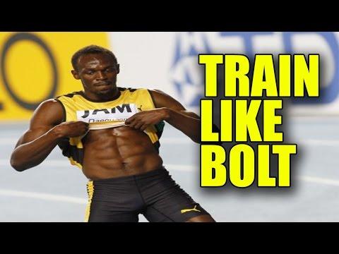 人類最速の体作り!ボルトの体幹トレーニング