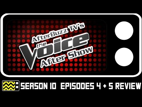 The Voice Season 10 Episodes 4 & 5 Review & AfterShow | AfterBuzz TV