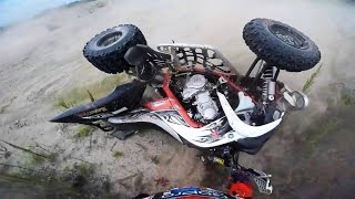 7. Crashes Fails Yamaha Raptor 700 - ATV quad compilation 2016 #2