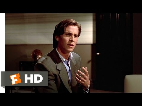 American Psycho (8/12) Movie CLIP - The Greatest Love of All (2000) HD