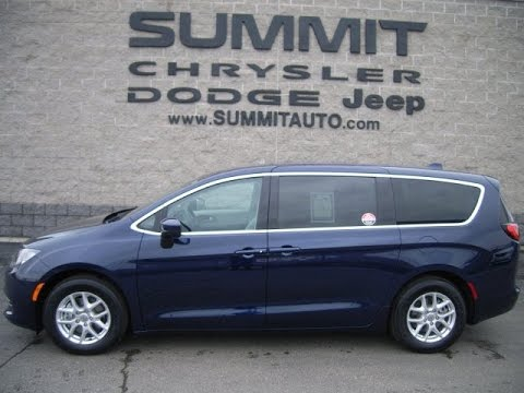 SOLD! 7C58A 2017 CHRYSLER PACIFICA TOURING USED MINIVAN FOND DU LAC $24,999 www.SUMMITAUTO.com