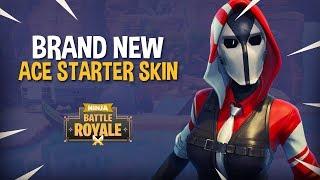 *BRAND NEW* Ace Starter Skin!! Fortnite Battle Royale Gameplay - Ninja