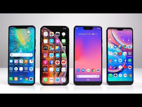 Huawei Mate 20 Pro Vs Apple IPhone Xs Max Vs Google Pixel 3 XL Vs P20 Pro: Benchmark | SwagTab