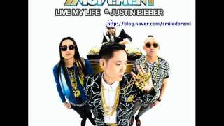 Far East Movement - Live my life(ft.yoonmirae,Tiger JK,justin bieber)