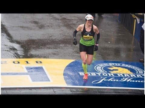 Canadian Krista DuChene finishes third in women's Boston Marathon