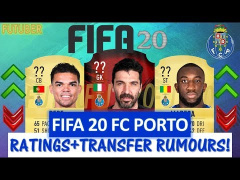 FIFA 20 | FC PORTO PLAYER RATINGS!! FT. BUFFON, PEPE, MAREGA ETC... (TRANSFER RUMOURS INCLUDED)