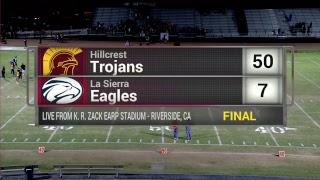 Live High School Football - La Sierra vs Hillcrest