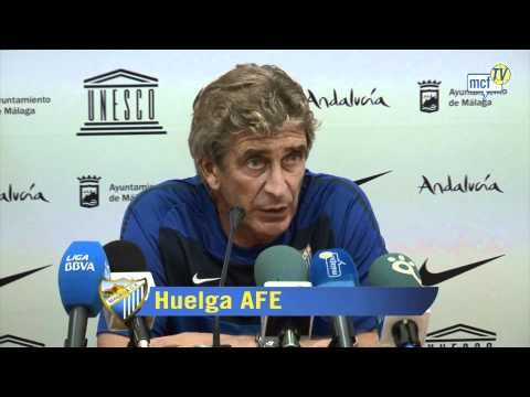 Rueda de prensa Pellegrini
