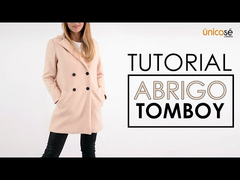 DIY Tutorial Costura:  Abrigo Tomboy