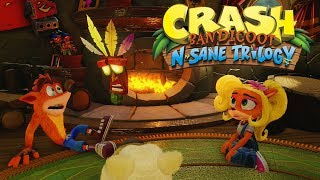 """Crash N Sane Trilogy Remaster PS4 gameplay em Português. Gameplay de Crash Bandicoot 2 Cortex Strikes Back em PT-BR completa REMASTER (Remasterizado). Hoje damos início à essa série super esperada e divertida no canal! Não esqueça de deixar seu like, ativar as notificações e me seguir nas redes sociais!Crash Bandicoot N.Sane Trilogy é um remake dos três primeiros jogos da série Crash Bandicoot: Crash Bandicoot, Cortex Strikes Back, e Warped. Como nos jogos originais, Crash utiliza técnicas de giro e salto para derrotar inimigos, quebrar caixas e coletar itens, como Frutas Wumpa, vidas extras e máscaras Aku Aku.A trilogia é descrita pelos desenvolvedores da Vicarious Visions como um """"remaster plus"""", com os desenvolvedores reconstruindo o mecanismo do jogo a partir do zero com base na geometria de nível original da Naughty Dog. A trilogia adiciona novos recursos em todos os três jogos, incluindo checkpoints unificados, menus de pausa e sistemas de salvamento, incluindo salvamento manual e automático, além do modo Time Trial (Contrarrelógio) nos dois primeiros (antes ele era só era disponível em Warped). O jogo também possui alta definição com resolução 4K e áudio remasterizado.Canal da minha parceira :http://bit.ly/2k2nQOx-NicolleGostou do canal? Inscreva-se pra não perder mais nada e nunca esqueça de deixar seu gostei pra ajudar no crescimento desse conteúdo que você curtiu!Continue se divertindo no canal com essa playlist de LEGO Marvel Super Heroes :http://bit.ly/2kNwNL6L-LEGOMarvelSuperHeroesNão perca nenhuma novidade me seguindo nas redes sociais :Minha parceira Nicolle Wanessa :http://goo.gl/87aTDFTwitter :https://twitter.com/gabrielcalves_Instagram :https://www.instagram.com/gabrielcalves_Quer ajudar o canal? Use a hashtag #GDgameplay no seu nome de usuário! Se fizer, fico imensamente grato!"""