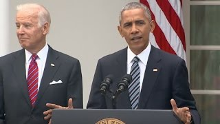 President Obama Full Speech on Donald Trump Win