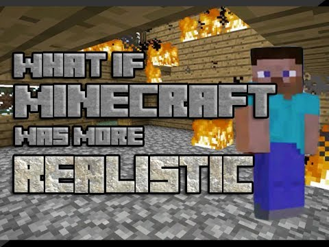 What if Minecraft was more Realistic?
