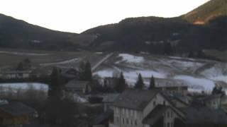 Timelapse Webcam Villard de lans - 29/12/2015 - Colline des Bains