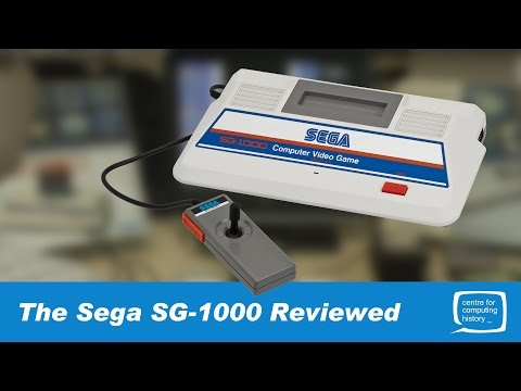 Sega's First Video Game Console - Sega SG-1000