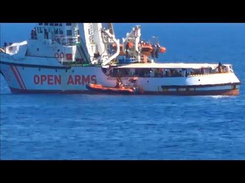 Open Arms: Συνεχίζεται το αδιέξοδο λόγω διαφωνίας Ιταλίας-Ισπανίας…