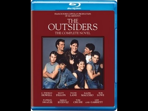 The Outsiders Blu-ray Unboxing