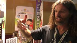 Spectrum King LED @ Cannabis Business Summit & Expo by Urban Grower
