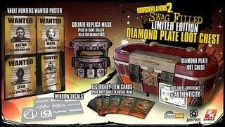 BORDERLANDS 2  Diamond Loot Chest Unboxing!!!!