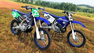 2. 2 Stroke vs 4 Stroke 2019 Yamaha YZ250X and YZ250FX - Dirt Bike Magazine