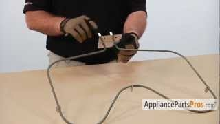 Buy the new Electric Oven Bake Element http://www.appliancepartspros.com/range-cooktop-oven-heating-element.html Follow these simple step-by-step instruction...