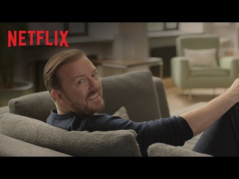 """Ricky Gervais – """"Superfan"""" – Netflix Commercial – EMMY 2014 – HD"""