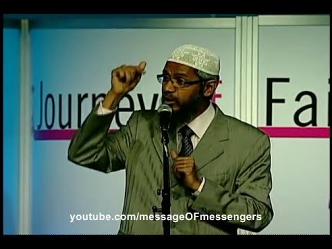 islamic - Christian accepts Islam after posing a question to Dr. Zakir Naik. Young, brave and confident Christian from the audience in Toronto challenges Dr. Zakir Nai...