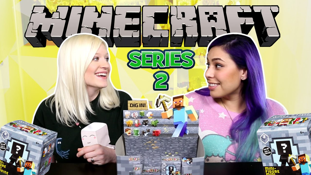 NEW Minecraft Blind Boxes Series 2!