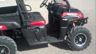 7. 2012 Polaris Ranger XP 800 Walker Evans Special Edition