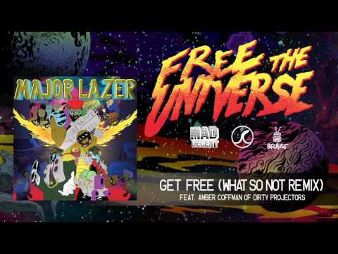 Major Lazer - Get Free (What So Not Remix) (feat. Amber Coffman of Dirty Projectors)(Official Audio)