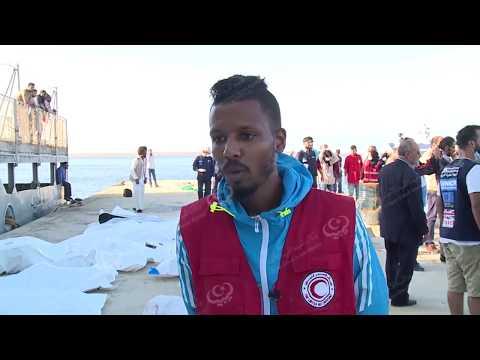 حرس السواحل الليبية ينقذ 150 وينتشل 30 جثة مهاجر