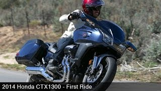 3. 2014 Honda CTX1300 First Ride - MotoUSA
