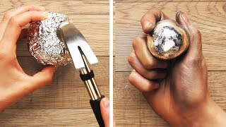 Video 27 Foil Life Hacks and DIY Ideas You Must Know by Crafty Panda MP3, 3GP, MP4, WEBM, AVI, FLV September 2018
