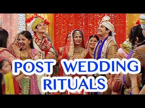 Akshara and Naitik's post wedding rituals