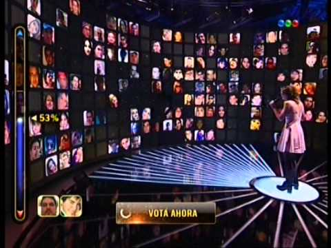 Victoria Bernardi canta Chasing pavements en Elegidos #Elegidos