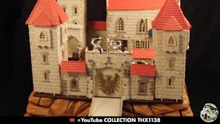 This is my original vintage plastic molded King Arthur's Castle Playset made in West Germany in the late 1960's early 1970's. A viewer Lawrence Bateman made ...