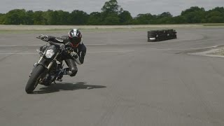 9. REVIEW: Brammo Empulse R vs. Top Gear Test Track