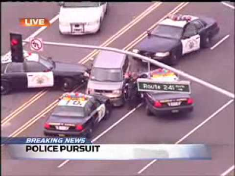 Orange County Crazy Car Chase