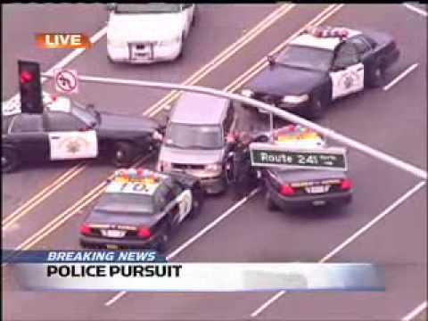 Orange County Crazy Car Chase