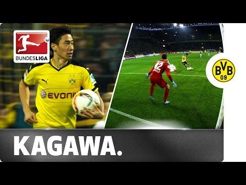 Kagawa Marks 100th Bundesliga Appearance With Crucial Goal