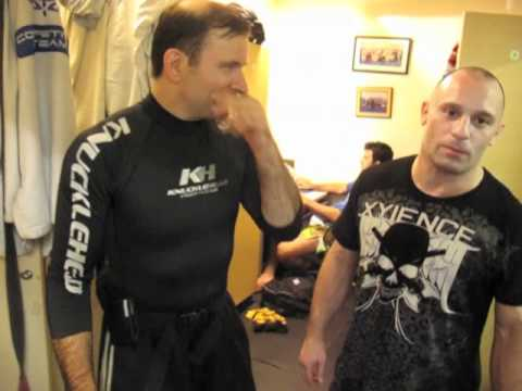 Matt Serra UFC 119 Video Blog  Day 3