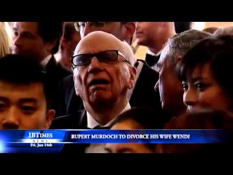 Rupert Murdoch - News Corp Chief Executive Rupert Murdoch has filed for divorce from his wife Wendi, the company confirmed on Thursday (June 13), just days before News Corp. ...
